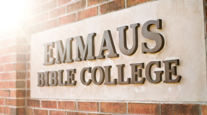 Emmaus Bible College Sign