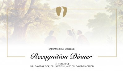 2018 Emmaus Recognition Event
