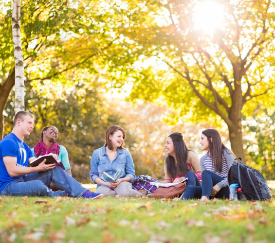 Student Group Outdoors 1