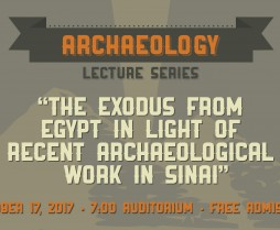 Archaeology Lecture Series 10-17