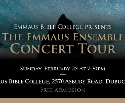 Emmaus Ensemble Concert Tour