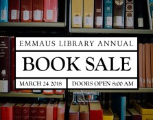 Emmaus Library Book Sale